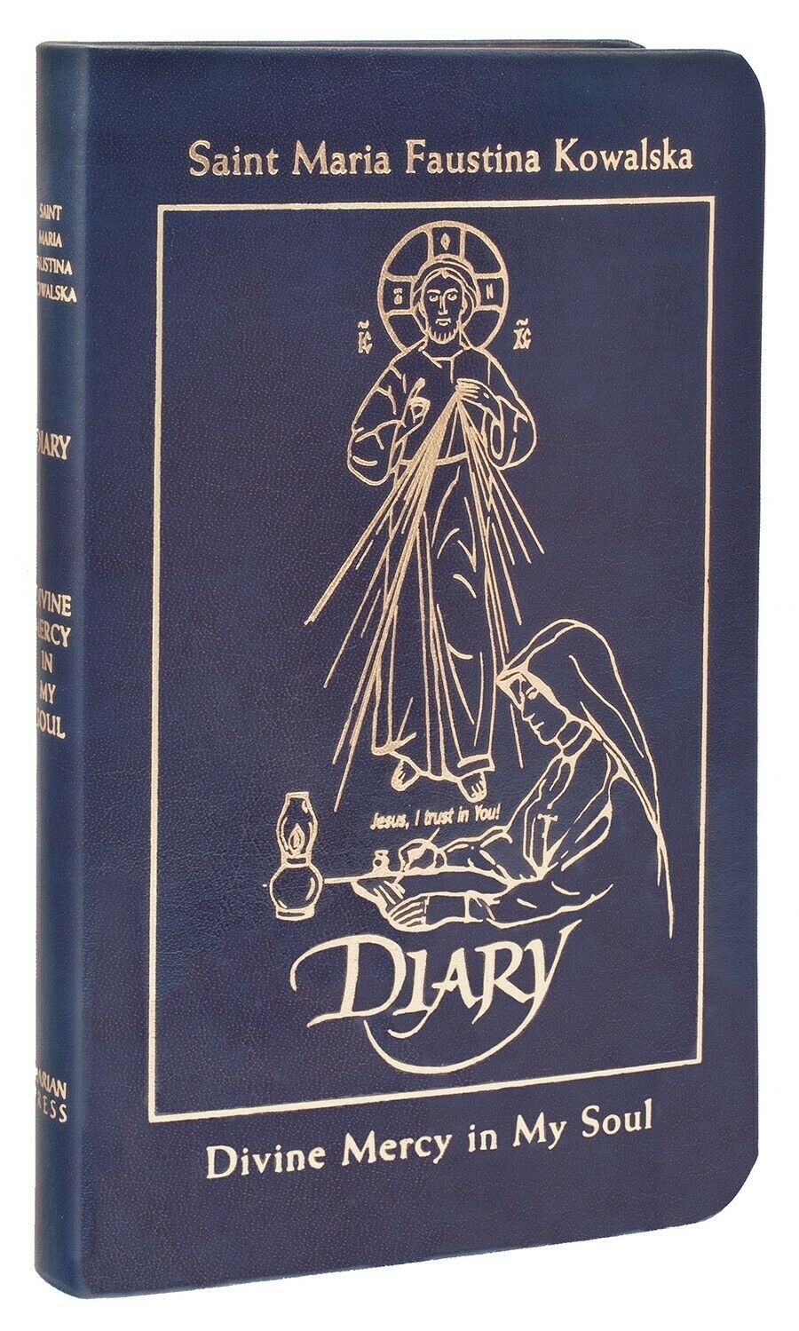 Diary of Saint Maria Faustina Kowalska Divine Mercy in My Soul (Blue Leather)