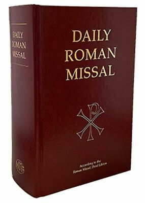Daily Roman Missal - Burgundy Hardcover -Standard Print - English
