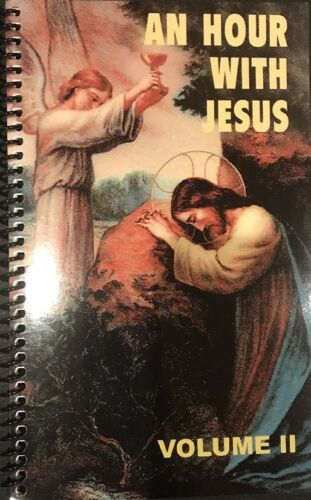 An Hour With Jesus VOL 2- Paperback Book- Devotional Prayer Book- VOL II