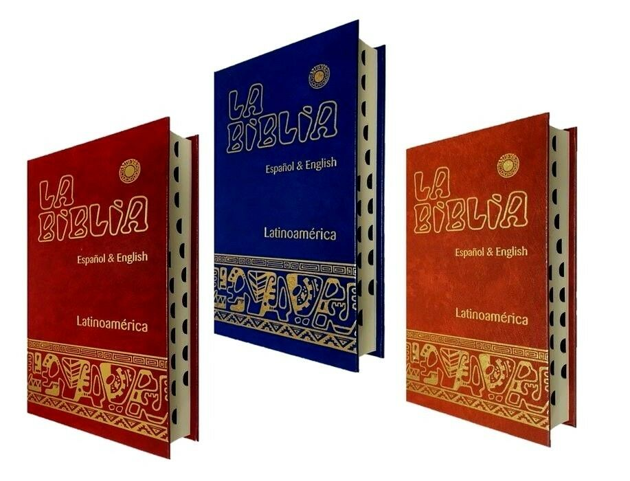 Biblia Bilingue Ingles/Español -Bilingual Bible English/Spanish Catholic UNEROS