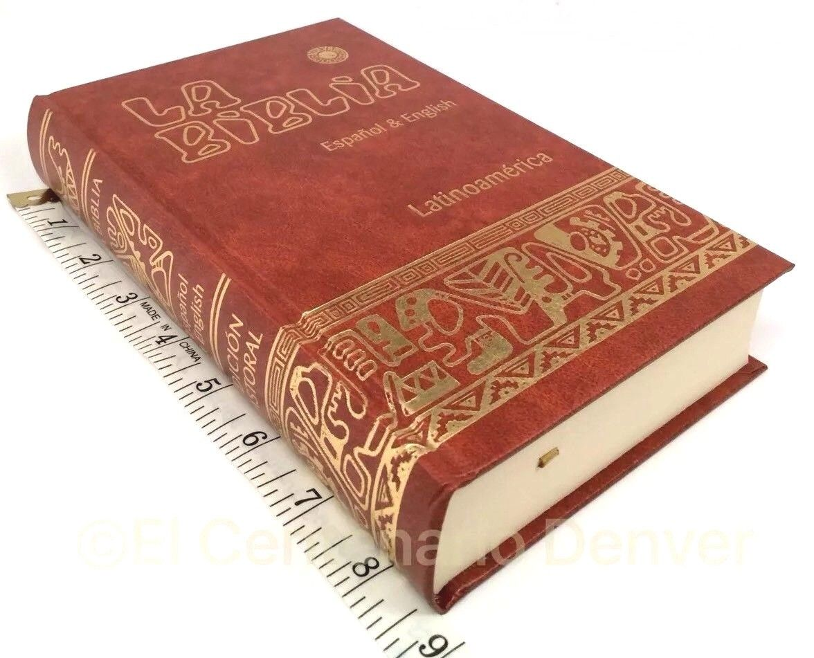 Biblia Bilingue Ingles/Español Bilingual Bible English/Spanish Catolica Catholic
