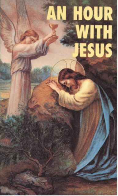 AN HOUR WITH JESUS -- VOL 1 + 2 -- Set of Both Books