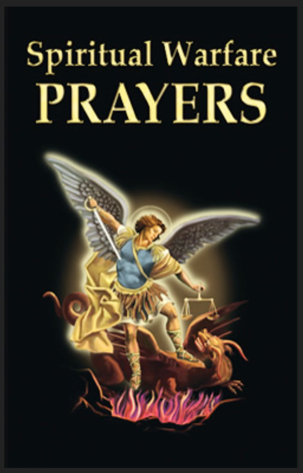 Spiritual Warfare Prayers -32 Page Prayer Booklet -Robert Abel -FREE SHIPPING!