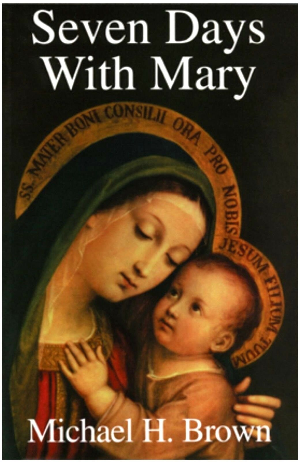 Seven Days With Mary - Book by Michael H. Brown (Paperback)