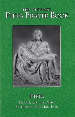 (PACK OF 4 BOOKS) Pieta Prayer Book -LARGE PRINT- with St Bridget's 15 Prayers +