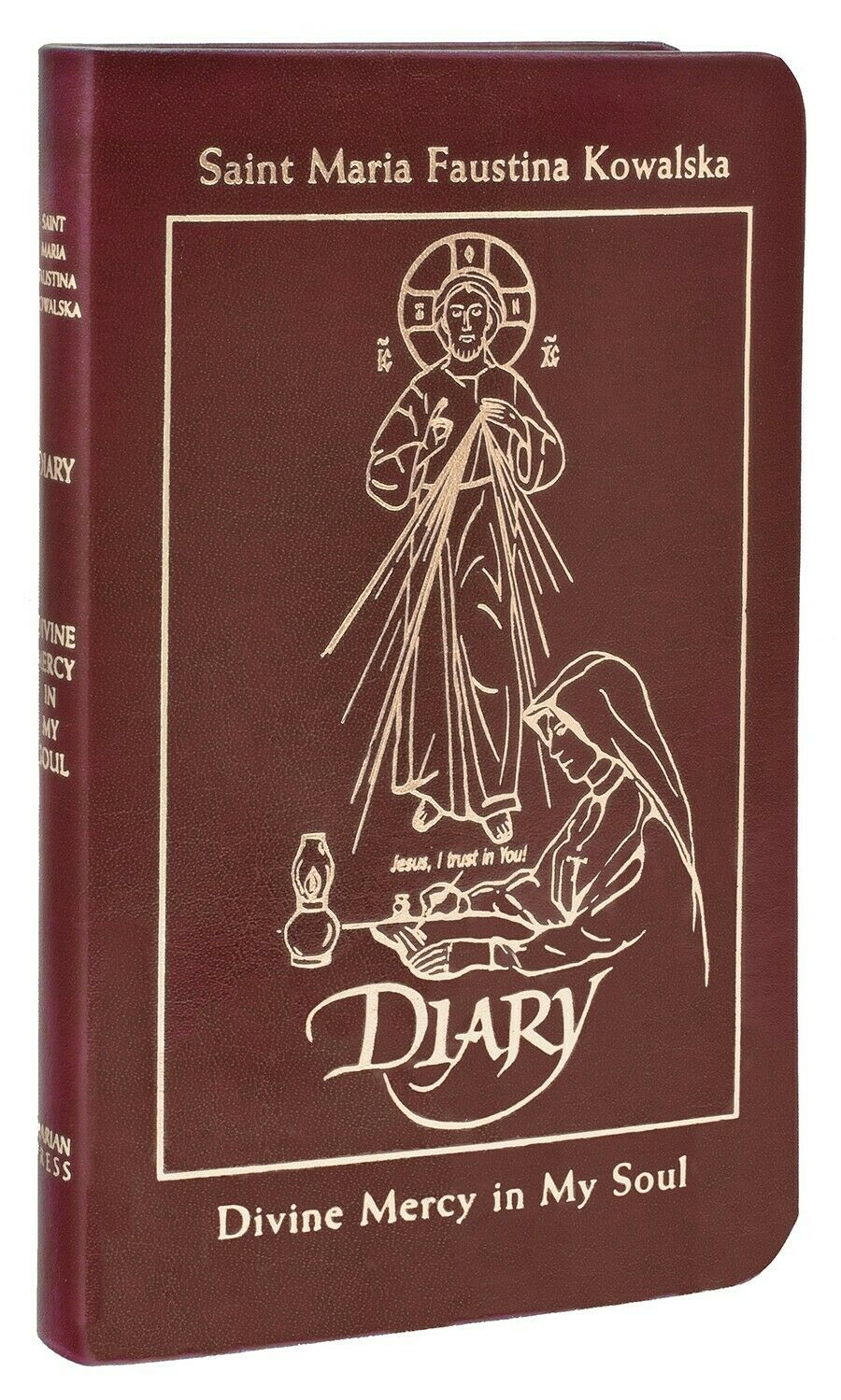 Diary of Saint Maria Faustina Kowalska Divine Mercy in My Soul (Leather-English)