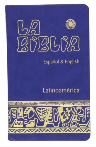 Biblia Bilingue- English Spanish Español bilingual Bible -Faux Leather -CATOLICA
