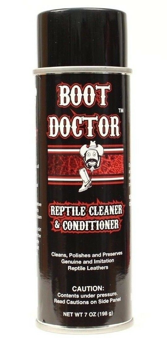 Reptile Cleaner and Conditioner BOOT DOCTOR -Leather Cleaner Polisher Preserver