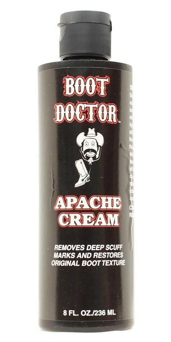 Apache Cream -BOOT DOCTOR  8 Fl OZ- Leather and Boot Texture Restoration