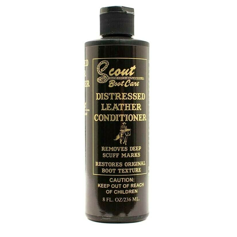 Distressed Leather Conditioner- Removes Deep Scuff Marks - Restores Boot Texture