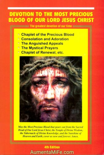 Devotion to the Most Precious Blood of our Lord Jesus Christ NEW 4th Ed Book