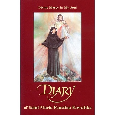 DIVINE MERCY IN MY SOUL -DIARY OF SAINT MARIA FAUSTINA KOWALSKA (New Paperback)