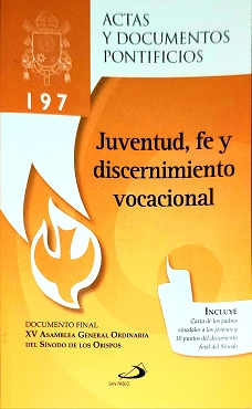 Juventud, Fe y Discernimiento Vocacional Documento XV Asamblea General Ordinaria